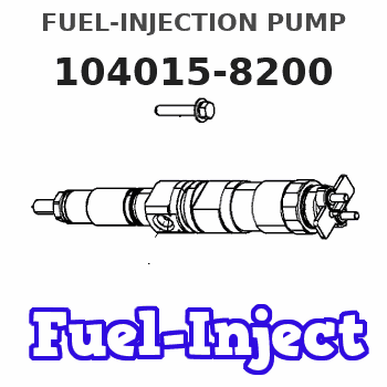104015-8200 FUEL-INJECTION PUMP
