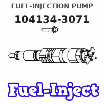 104134-3071 FUEL-INJECTION PUMP