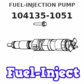 104135-1051 FUEL-INJECTION PUMP