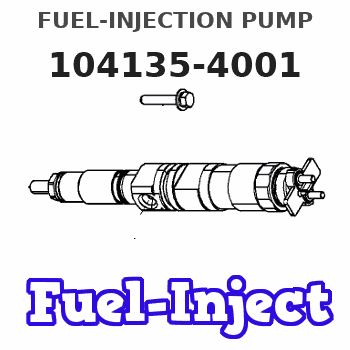 104135-4001 FUEL-INJECTION PUMP