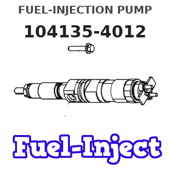 104135-4012 FUEL-INJECTION PUMP