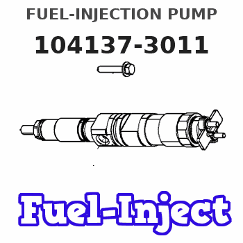 104137-3011 FUEL-INJECTION PUMP
