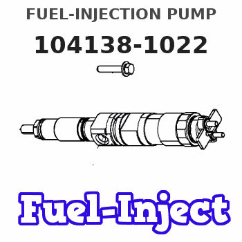 104138-1022 FUEL-INJECTION PUMP
