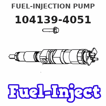 104139-4051 FUEL-INJECTION PUMP