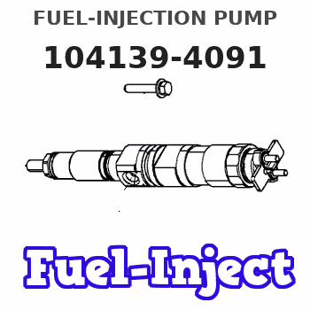 104139-4091 FUEL-INJECTION PUMP