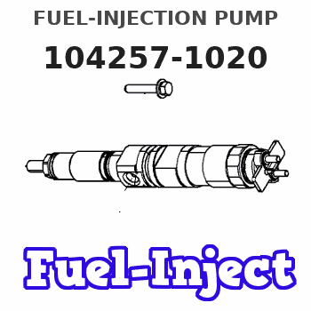 104257-1020 FUEL-INJECTION PUMP