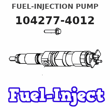 104277-4012 FUEL-INJECTION PUMP