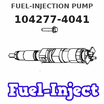 104277-4041 FUEL-INJECTION PUMP