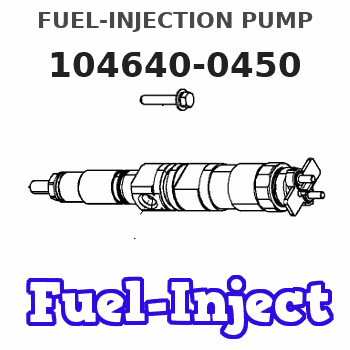 104640-0450 FUEL-INJECTION PUMP