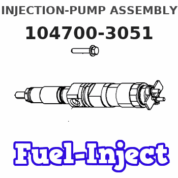 104700-3051 INJECTION-PUMP ASSEMBLY