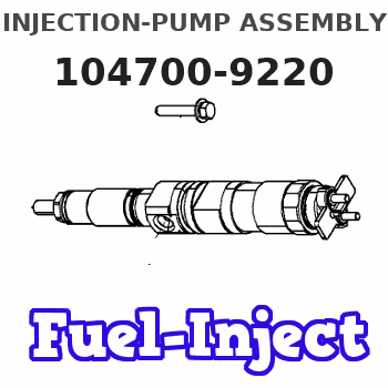 104700-9220 INJECTION-PUMP ASSEMBLY