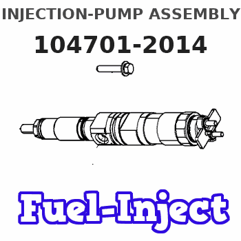 104701-2014 INJECTION-PUMP ASSEMBLY