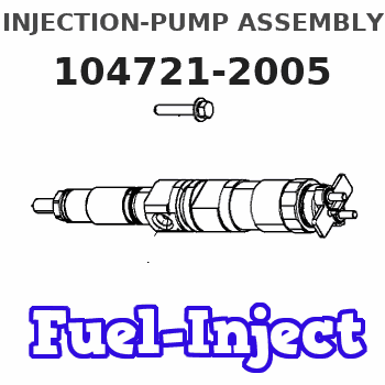 104721-2005 INJECTION-PUMP ASSEMBLY