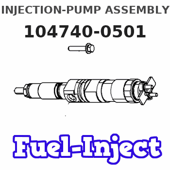 104740-0501 INJECTION-PUMP ASSEMBLY