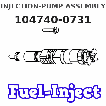 104740-0731 INJECTION-PUMP ASSEMBLY