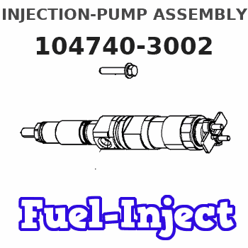 104740-3002 INJECTION-PUMP ASSEMBLY