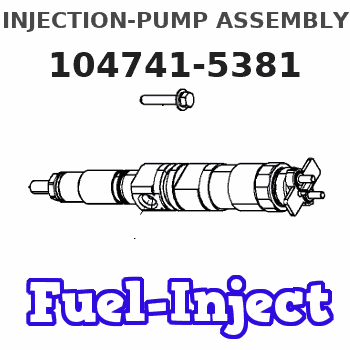 104741-5381 INJECTION-PUMP ASSEMBLY