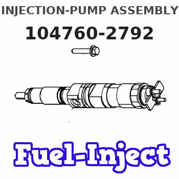 104760-2792 INJECTION-PUMP ASSEMBLY