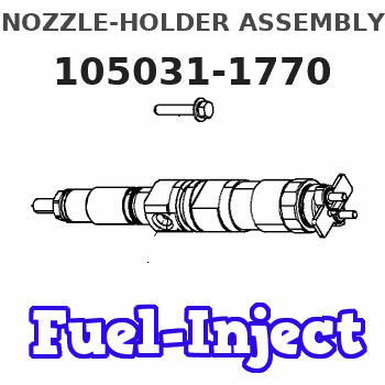105031-1770 NOZZLE-HOLDER ASSEMBLY