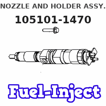 105101-1470 NOZZLE AND HOLDER ASSY.