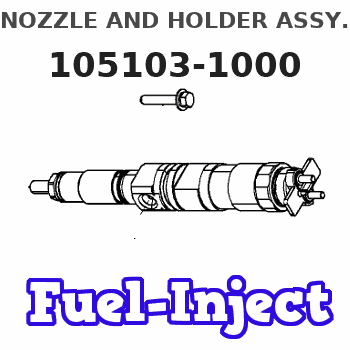 105103-1000 NOZZLE AND HOLDER ASSY.