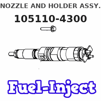 105110-4300 NOZZLE AND HOLDER ASSY.
