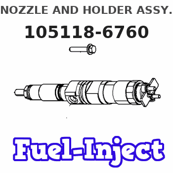 105118-6760 NOZZLE AND HOLDER ASSY.