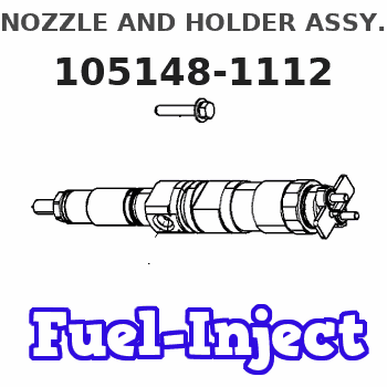 105148-1112 NOZZLE AND HOLDER ASSY.
