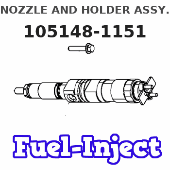 105148-1151 NOZZLE AND HOLDER ASSY.