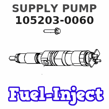 105203-0060 SUPPLY PUMP