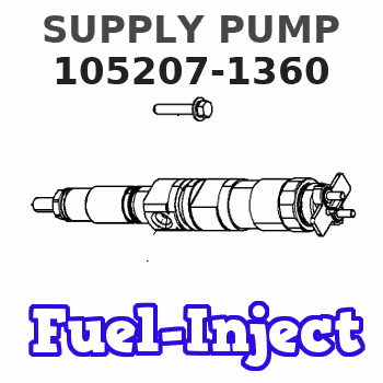 105207-1360 SUPPLY PUMP