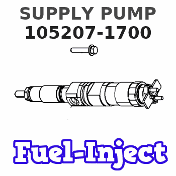 105207-1700 SUPPLY PUMP