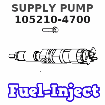 105210-4700 SUPPLY PUMP