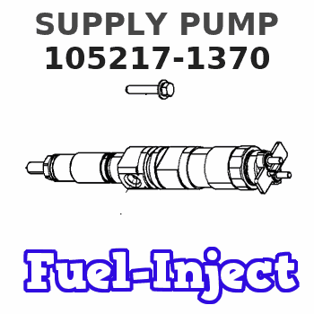 105217-1370 SUPPLY PUMP