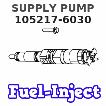 105217-6030 SUPPLY PUMP