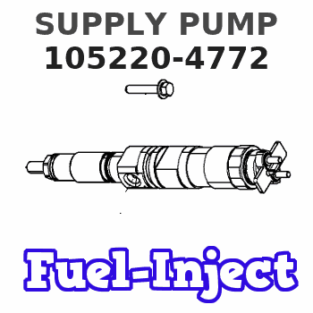 105220-4772 SUPPLY PUMP