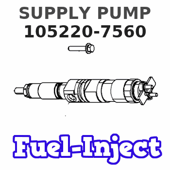 105220-7560 SUPPLY PUMP