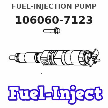 106060-7123 FUEL-INJECTION PUMP