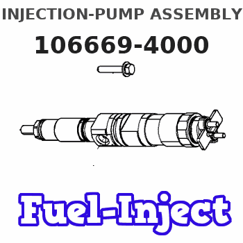 106669-4000 INJECTION-PUMP ASSEMBLY