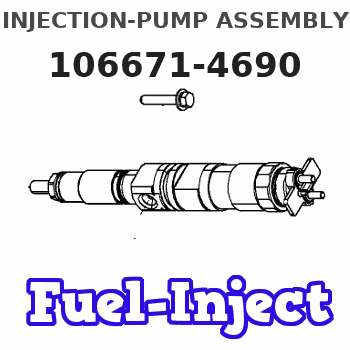 106671-4690 INJECTION-PUMP ASSEMBLY