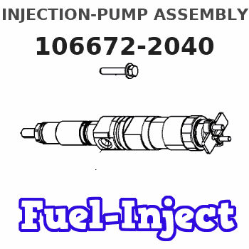 106672-2040 INJECTION-PUMP ASSEMBLY