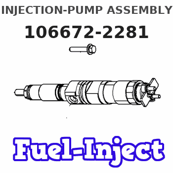 106672-2281 INJECTION-PUMP ASSEMBLY