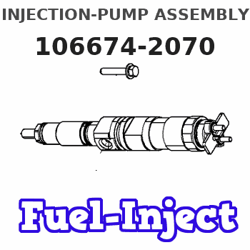 106674-2070 INJECTION-PUMP ASSEMBLY