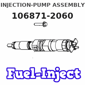 106871-2060 INJECTION-PUMP ASSEMBLY
