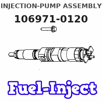 106971-0120 INJECTION-PUMP ASSEMBLY