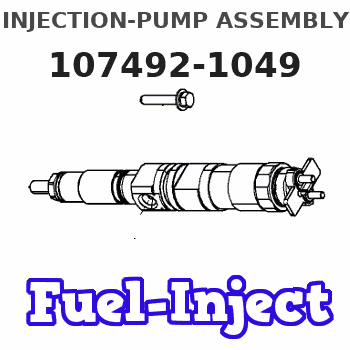 107492-1049 INJECTION-PUMP ASSEMBLY