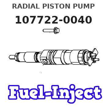 107722-0040 RADIAL PISTON PUMP