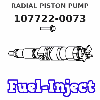 107722-0073 RADIAL PISTON PUMP