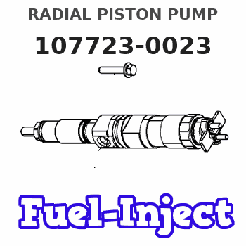 107723-0023 RADIAL PISTON PUMP