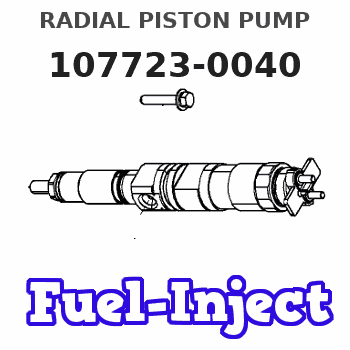 107723-0040 RADIAL PISTON PUMP